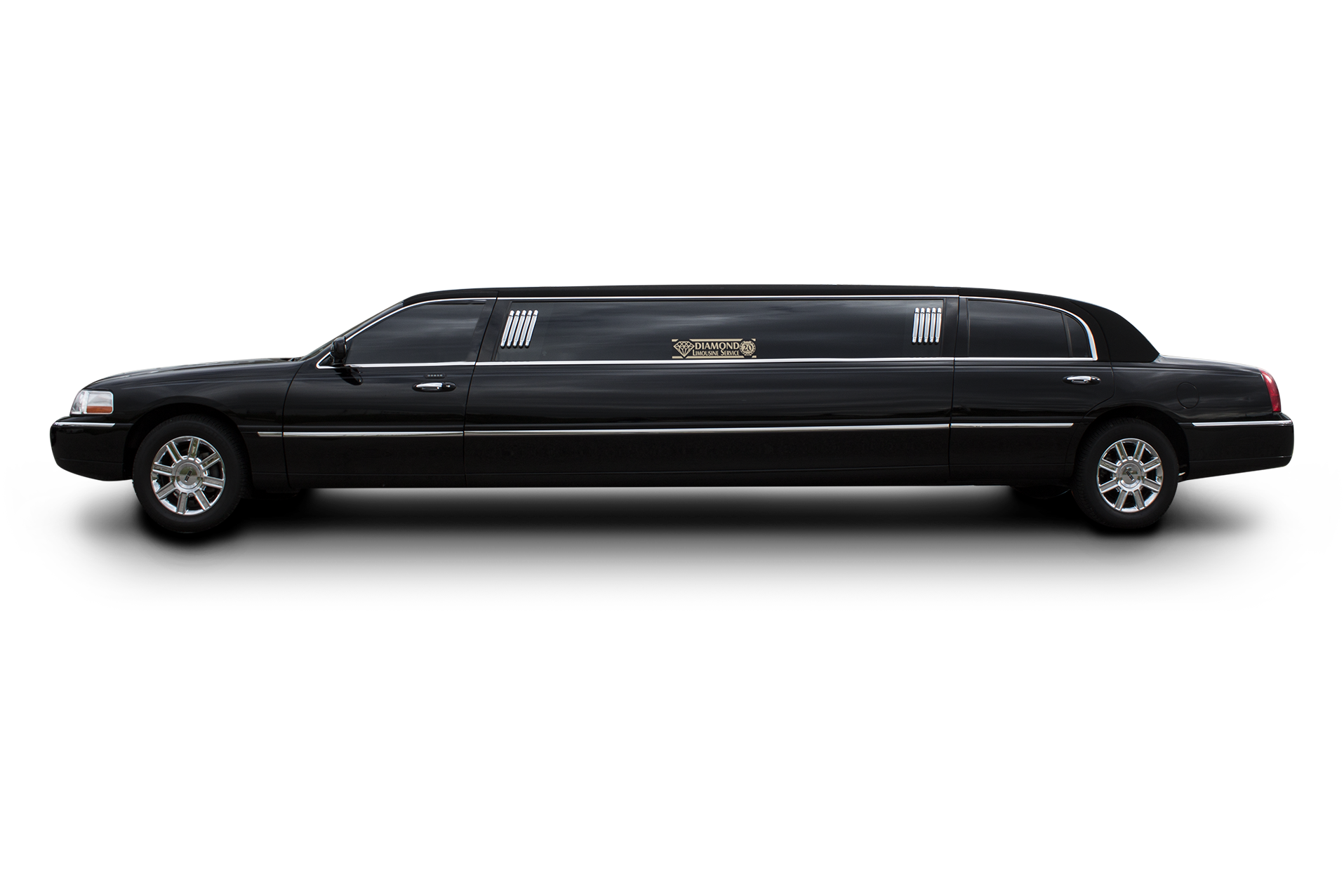 vehicle showroom diamond limousine. Black Bedroom Furniture Sets. Home Design Ideas